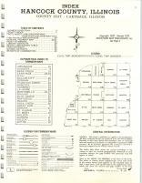 Index Map, Hancock County 1975